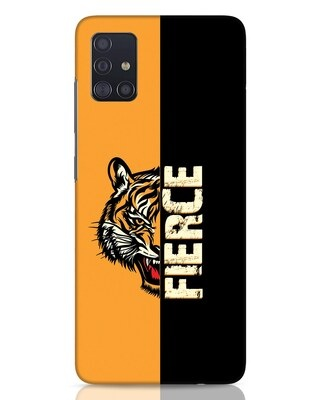 Shop Fierce Tiger Samsung Galaxy A51 Mobile Cover-Front