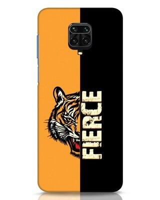 Shop Fierce Tiger Xiaomi Redmi Note 9 Pro Mobile Cover-Front