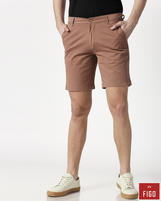 Shop Figo Melon Men's Chinos Shorts-Front