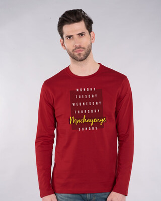 Shop Firse Machayenge Full Sleeve T-Shirt-Front