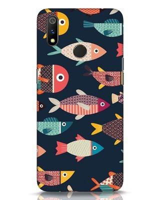Shop Fishies Realme 3 Pro Mobile Cover-Front