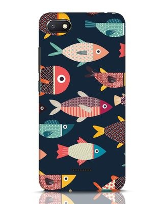 Shop Fishies Xiaomi Redmi 6A Mobile Cover-Front