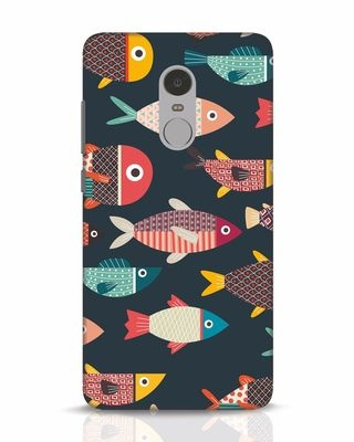 Shop Fishies Xiaomi Redmi Note 4 Mobile Cover-Front