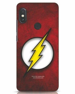 Shop Flash Logo Xiaomi Redmi Note 5 Pro Mobile Cover (BML)-Front