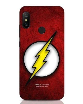 Shop Flash Logo Xiaomi Redmi Note 6 Pro Mobile Cover (BML)-Front