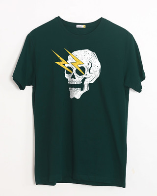 Buy Flash Skull Half Sleeve T-Shirt Online India @ Bewakoof.com