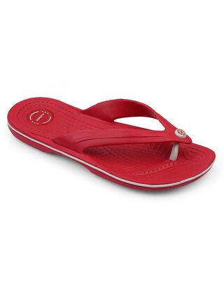 Shop Flipside Mens Aquaswift Red Flipflops-Front