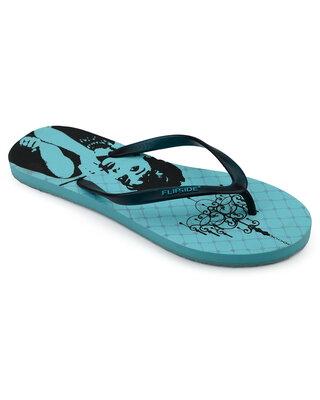 Shop Flipside Womens Tiffanys Aqua Flipflops-Front