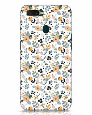 Shop Floral Pattern Oppo A7 Mobile Cover-Front