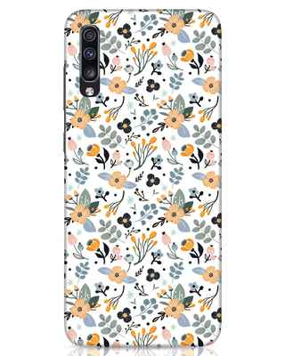 Shop Floral Pattern Samsung Galaxy A70 Mobile Cover-Front