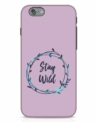 Shop Floral Stay Wild iPhone 6 Mobile Cover-Front