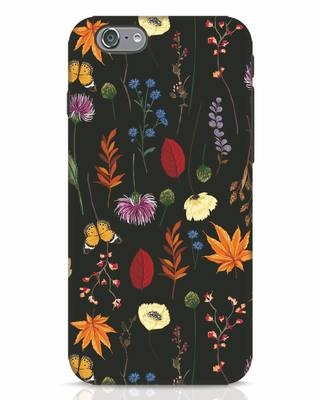 Shop Flowers iPhone 6 Mobile Cover-Front