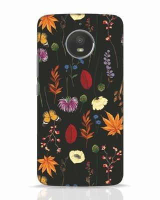 Shop Flowers Moto E4 Plus Mobile Cover-Front