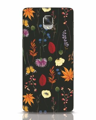 Shop Flowers OnePlus 3T Mobile Cover-Front