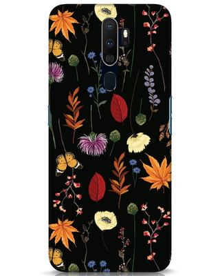 Shop Flowers Oppo A9 2020 Mobile Cover-Front