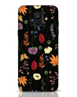 Shop Flowers Samsung Galaxy A6 2018 Mobile Cover-Front