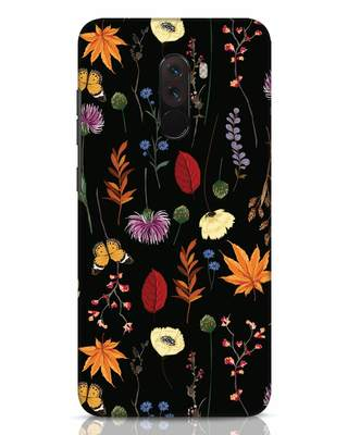 Shop Flowers Xiaomi POCO F1 Mobile Cover-Front