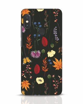 Shop Flowers Xiaomi Redmi Note 5 Pro Mobile Cover-Front