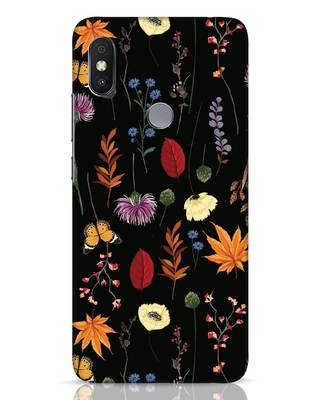 Shop Flowers Xiaomi Redmi Y2 Mobile Cover-Front