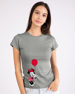 Shop Fly High Minnie Half Sleeve T-Shirt (DL)-Front