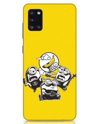 Shop Flying Minion Samsung Galaxy A31 Mobile Cover-Front