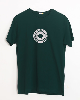 Buy Focus Capture Develop Half Sleeve T-Shirt Online India @ Bewakoof.com