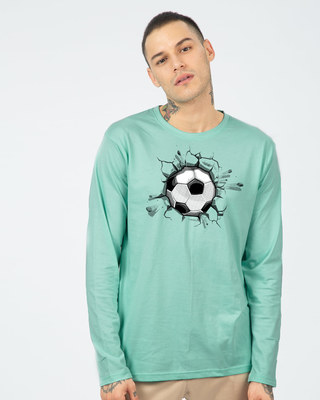 Shop Football Break Full Sleeve T-Shirt-Front