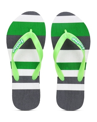 Shop Footup Men's Light Comfortable And Stylish Multicolor Slippers-Front