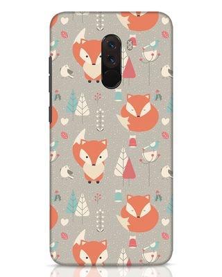 Shop Foxy Xiaomi POCO F1 Mobile Cover-Front