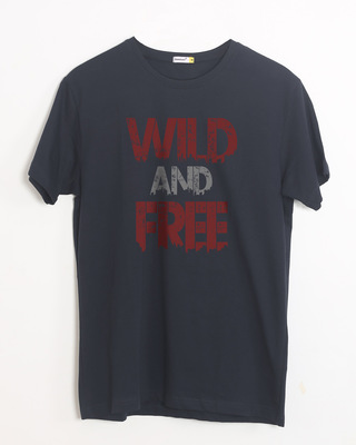 Buy Free And Wild Half Sleeve T-Shirt Online India @ Bewakoof.com