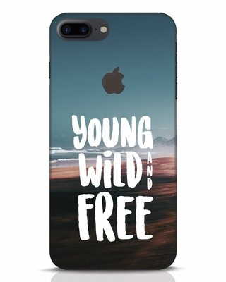 Shop Free iPhone 7 Plus Logo Cut Mobile Cover-Front