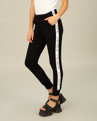 Shop Free Spirit Fleece Sports Trim Joggers-Front