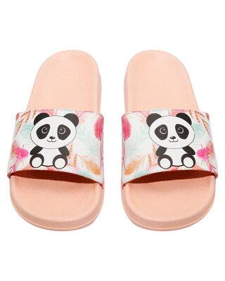 Shop FREECO Women's Cute Panda Slippers-Front