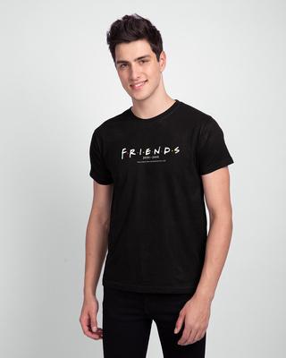 Shop Friends Air Date Half Sleeve T-shirt (FRL)-Front