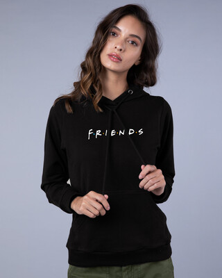 Shop Friends Logo Fleece Hoodie (FRL)-Front