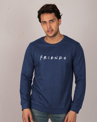 Shop Friends Logo Fleece Sweater (FRL)-Front