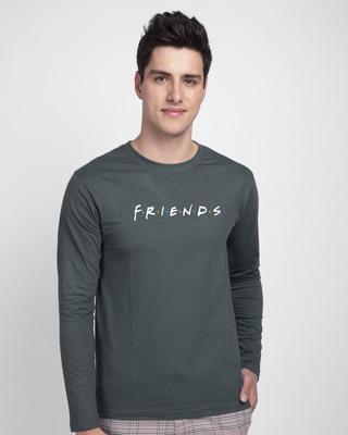 Shop Friends Logo Full Sleeve T-Shirt (FRL)-Front