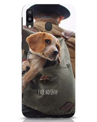 Shop Friendship Samsung Galaxy M20 Mobile Cover-Front