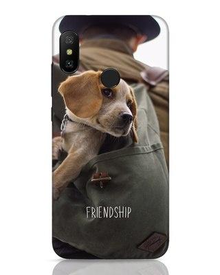 Shop Friendship Xiaomi Redmi 6 Pro Mobile Cover-Front