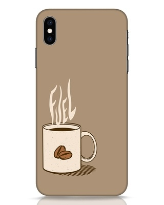 Shop Fuel iPhone XS Max Mobile Cover-Front