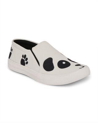Shop Funkfeets Panda Sneakers-Front
