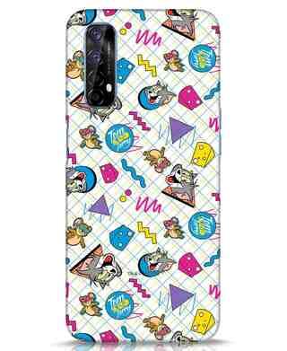 Shop Funny Friends Realme 7 Mobile Cover (TJL)-Front