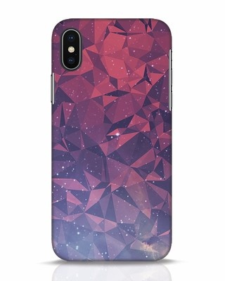 Shop Galaxy iPhone X Mobile Cover-Front