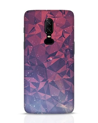 Shop Galaxy OnePlus 6 Mobile Cover-Front