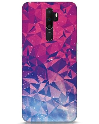 Shop Galaxy Oppo A5 2020 Mobile Cover-Front