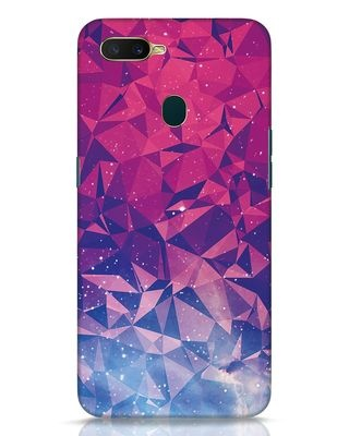 Shop Galaxy Oppo A7 Mobile Cover-Front