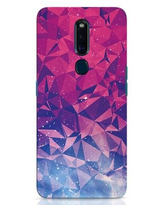 Shop Galaxy Oppo F11 Pro Mobile Cover-Front