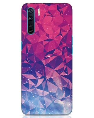 Shop Galaxy Oppo F15 Mobile Cover-Front