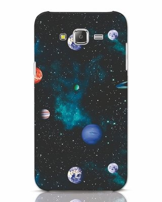 Shop Galaxy Planets Samsung Galaxy J7 Mobile Cover-Front