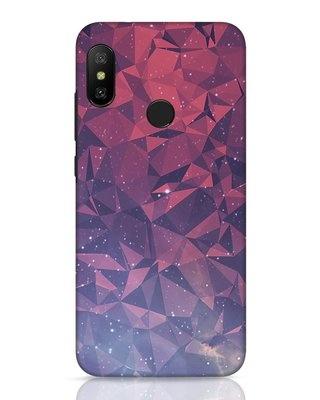 Shop Galaxy Xiaomi Redmi 6 Pro Mobile Cover-Front